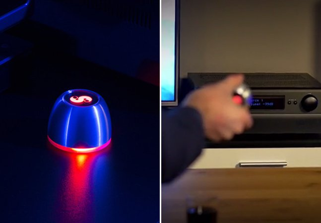 Controle remoto movido a pilhas permite customização completa ao se conectar a todos os seus eletrônicos