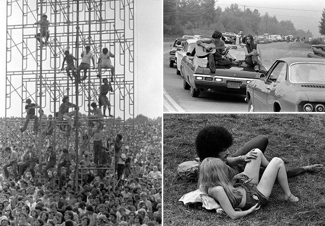 Woodstock: fotos inéditas mostram a magia do festival de música mais marcante da história