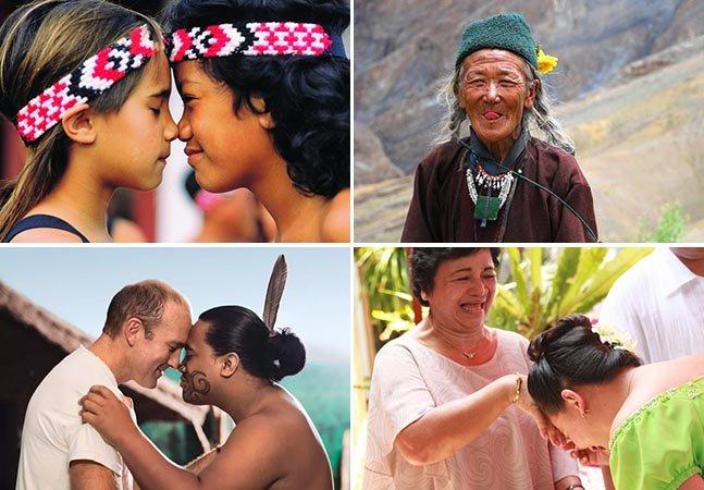 6 formas incomuns de cumprimentar as pessoas ao redor do mundo