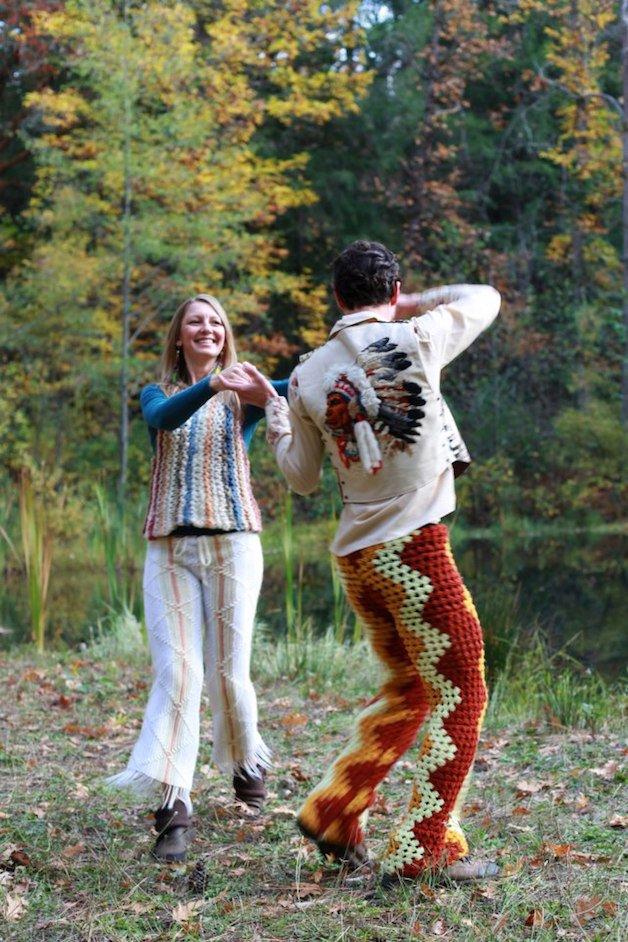 calca homem e mulher