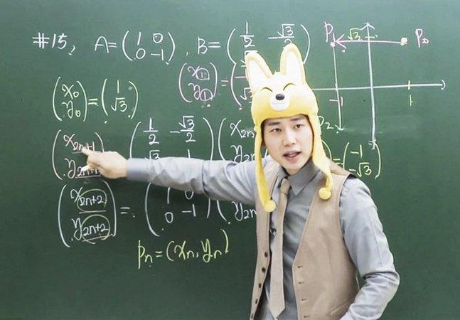 Na Coreia do Sul, os melhores professores viram celebridades e ficam milionários