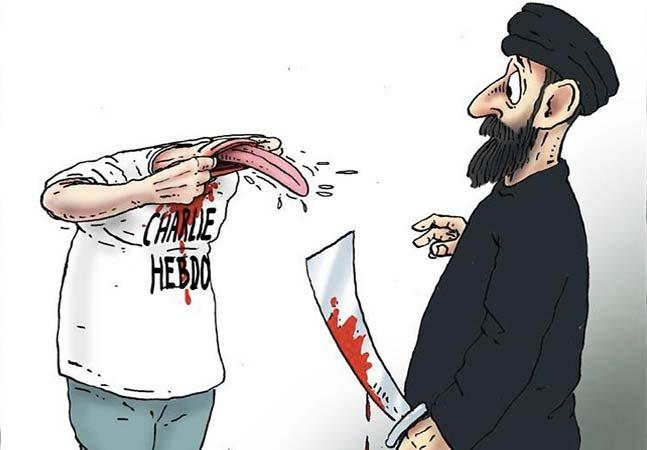 As respostas inspiradoras e tocantes de 28 cartunistas para o ataque contra a revista Charlie Hebdo