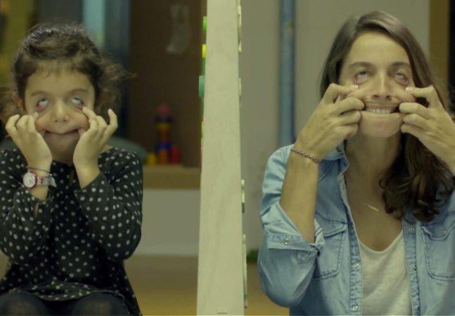 Vídeo tocante mostra a deficiência física vista pelos olhos das crianças