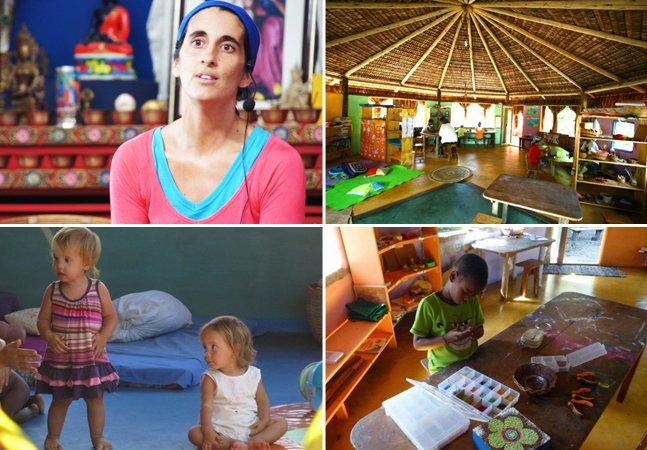 Conheça a escola livre que fica em uma comunidade sustentável na Bahia