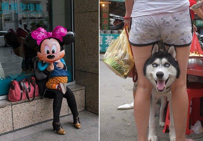 Série de fotos divertida mostra que o timing pode fazer toda a diferença