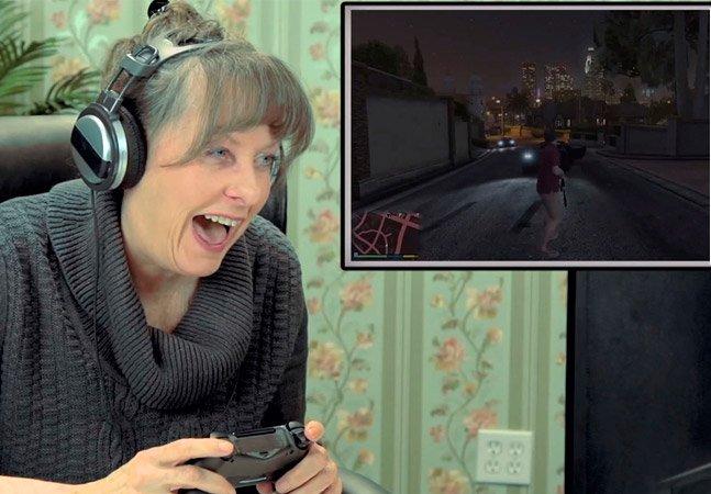 Veja o que acontece quando idosos jogam GTA V