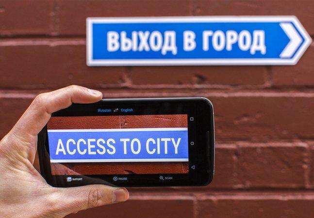 Atualização do Google Translator permite agora fazer tradução de voz e imagens em tempo real