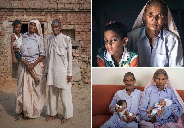 A história da mulher que deu à luz gêmeos aos 70 anos de idade
