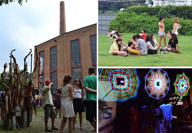 Fomos até o Festival Órbita, que levou música, arte e boa comida pra SP