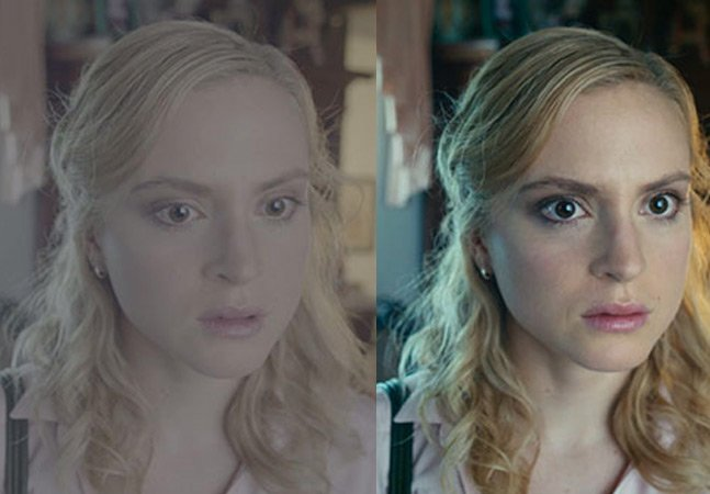 Vídeo mostra a impressionante diferença que o colorista faz num filme