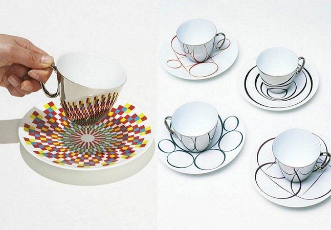 Empresa cria série de xícaras inovadoras que combinam com qualquer pires