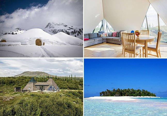 10 casas incríveis no Airbnb para se hospedar antes de morrer