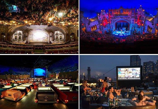 13 cinemas incríveis para visitar pelo menos uma vez na vida