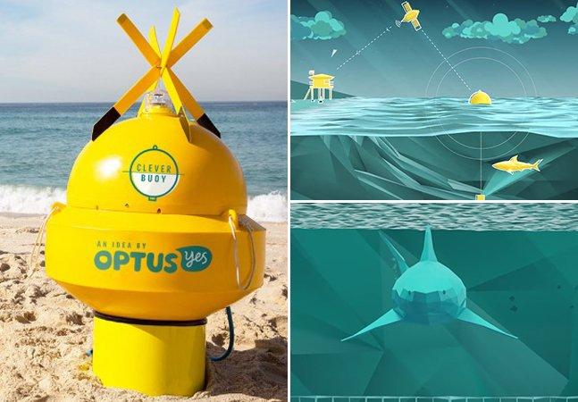 Conheça o sistema inovador que avisa quando tubarões estão por perto
