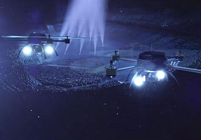 Amsterdã recebe o primeiro show de entretenimento do mundo feito somente com drones