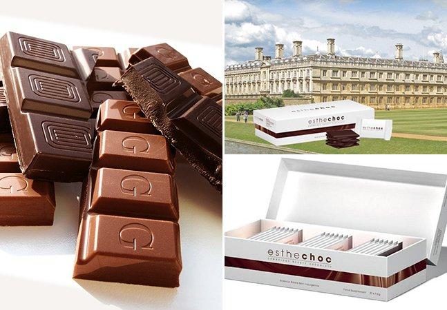 Chocolate antirrugas promete rejuvenescer a pele em até 20 anos