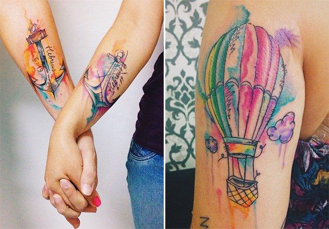 Conheça a arte carregada de cor do tatuador brasileiro Felipe Bernardes