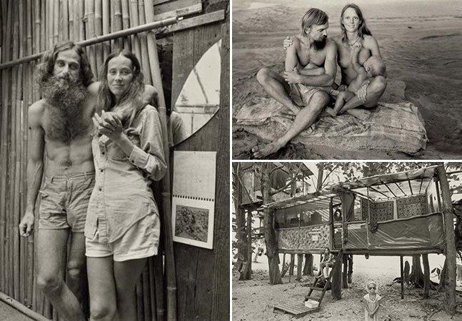 Fotos raras mostram refúgio hippie no Havaí formado por pessoas que pediam a paz nos anos 60