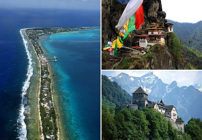 Conheça os 8 destinos menos visitados do mundo