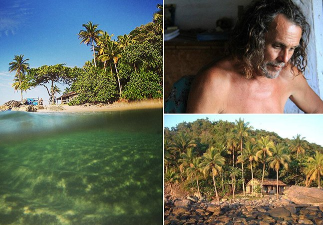 O brasileiro que vive sozinho em uma ilha há 32 anos
