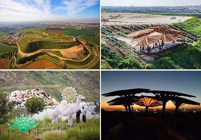 Israel transforma antiga lixeira em maior central de reciclagem do mundo