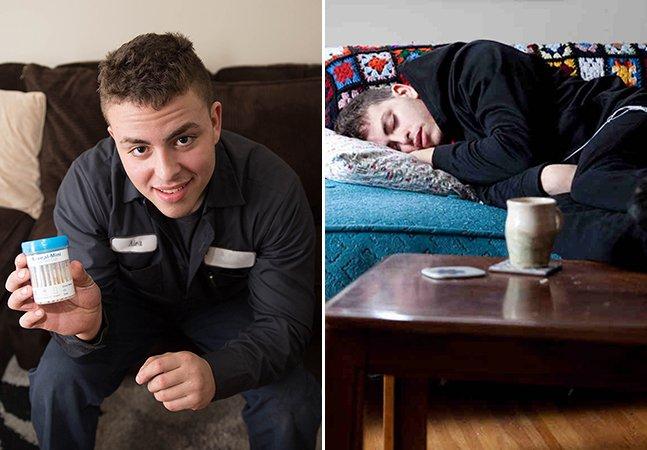 Fotógrafa documenta a recuperação do irmão viciado em heroína