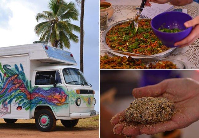 Amigos saem em aventura gastronômica numa Kombi espalhando receitas saudáveis pelo Brasil