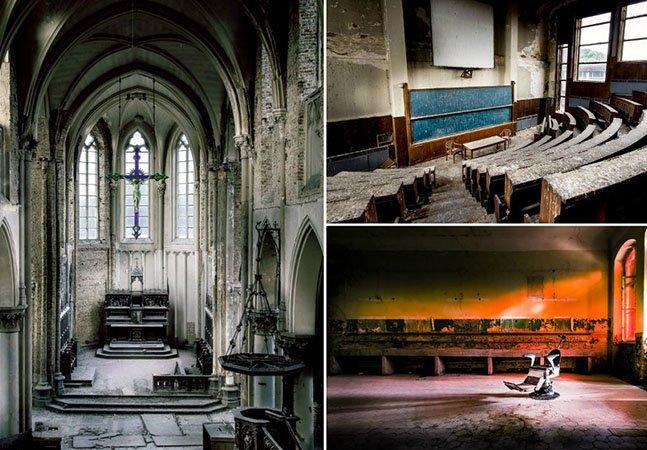 Estas incríveis fotos mostram a beleza que há por trás de lugares abandonados