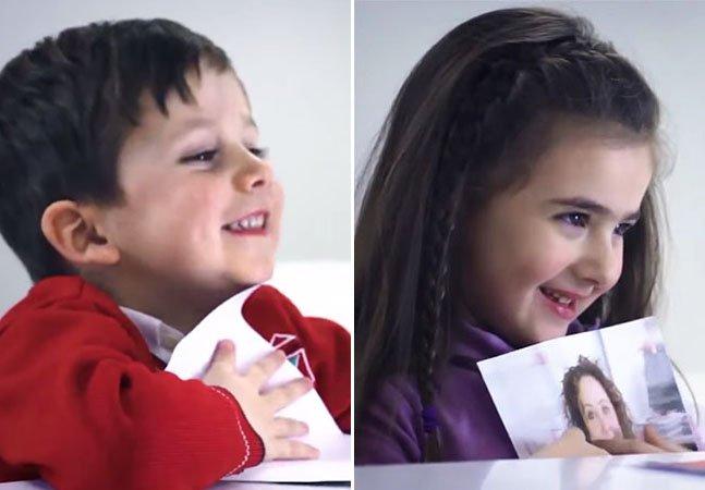 Crianças contam quem é a mulher mais bonita do mundo na opinião delas