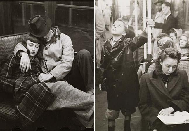 O metrô de Nova York na década de 40 visto pela lente de Stanley Kubrick