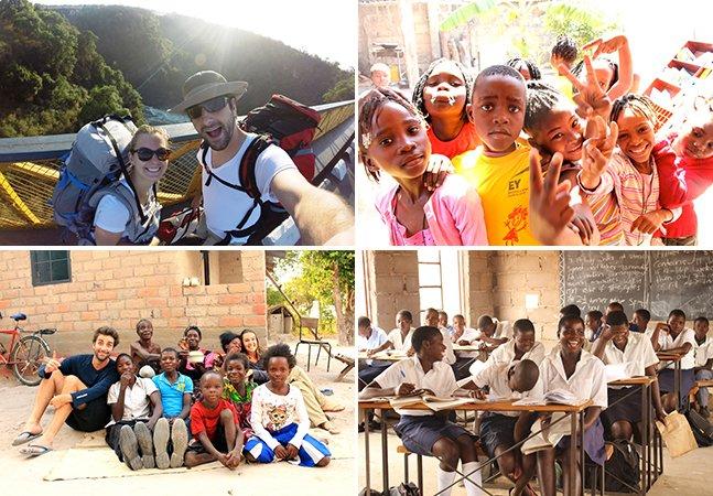 Casal brasileiro muda de vida para tentar transformar o mundo em um lugar melhor