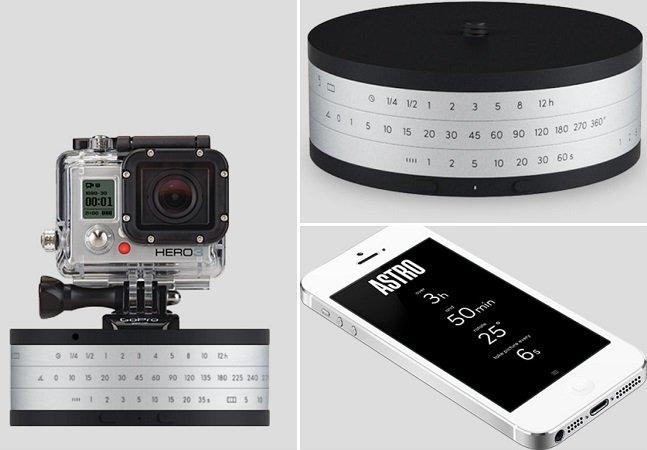 Gadget ajuda fotógrafos a criar vídeos em timelapse