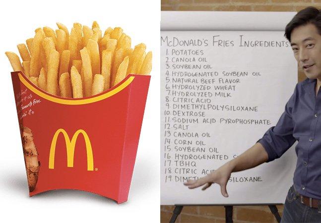 Nada vegetarianas: McDonald's revela que há carne e outros ingredientes em suas batatas