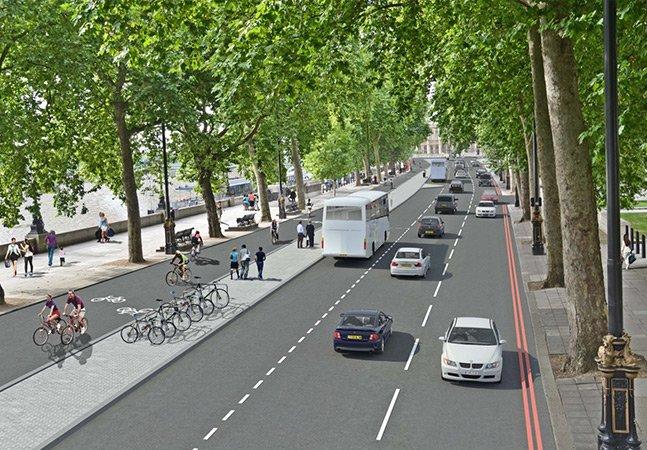 Londres vai sediar a primeira super ciclovia da Europa com 25 km de extensão