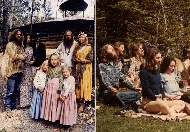 Fotos raras mostram como era a vida em comunidades hippies dos anos 60