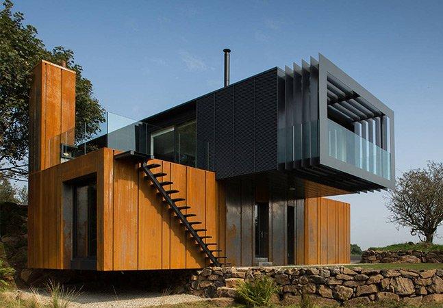 A casa feita de containers mais estilosa que você já viu