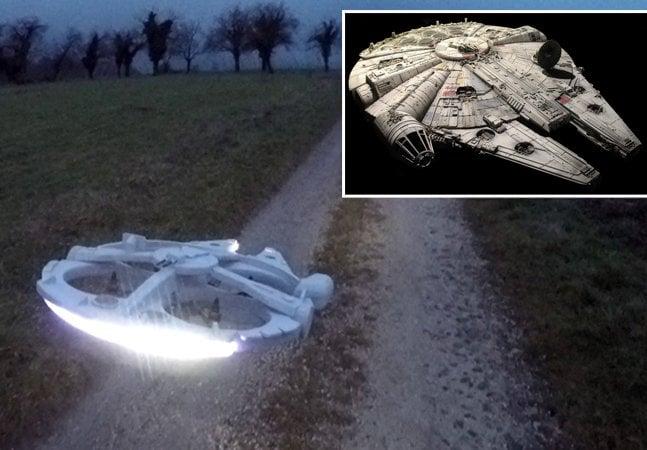 Francês cria drone inspirado em nave de Star Wars