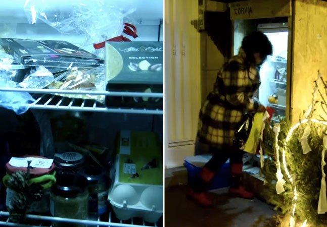 Bruxelas ganha geladeira pública para alimentar pessoas carentes