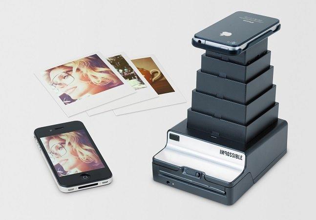 Este dispositivo inovador permite que você transforme suas fotos de celular em Polaroids reais e instantâneas