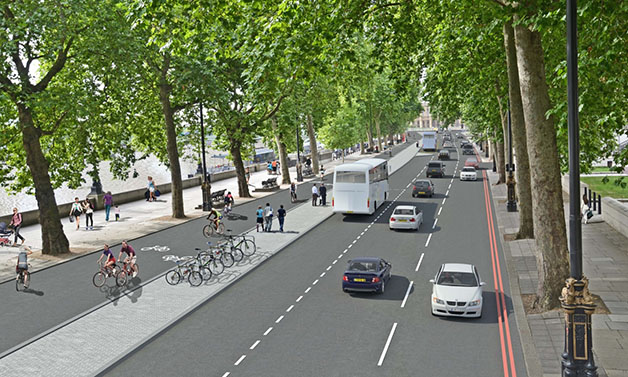 london-separated-bicycle-pathway