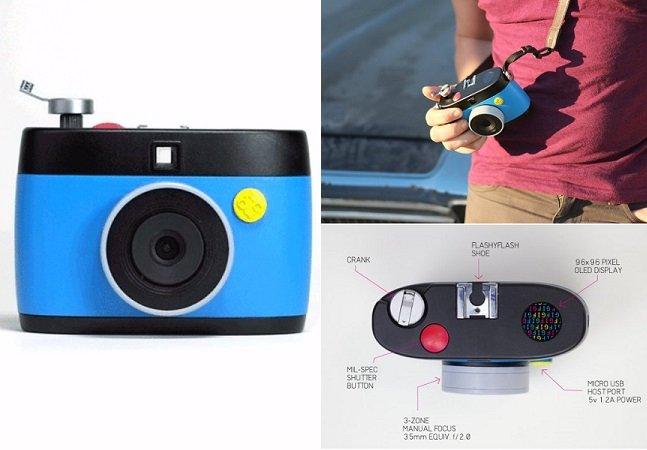 Conheça a OTTO, a câmera fotográfica que grava GIFs animados