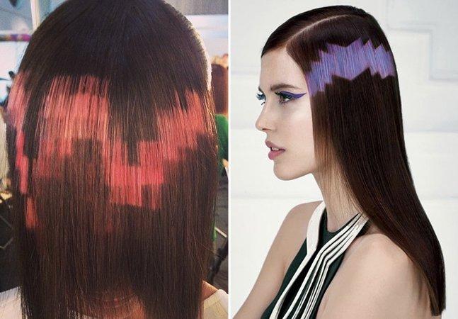 Conheça a nova moda dos cabelos pixelados