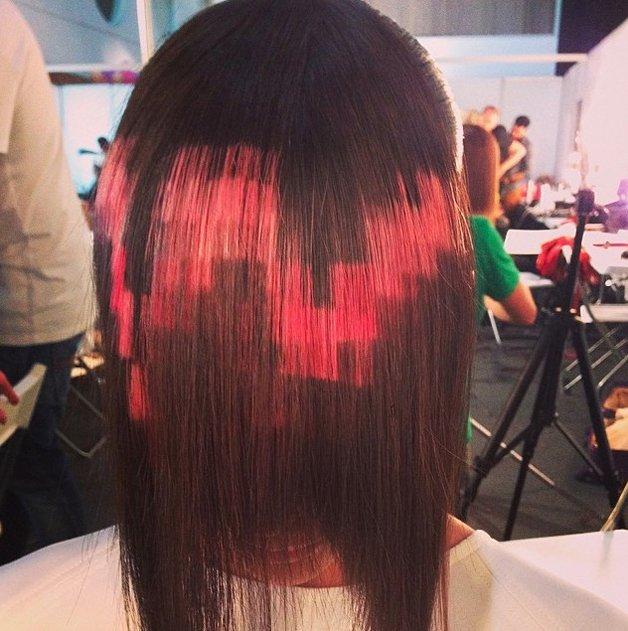 pixel-hair