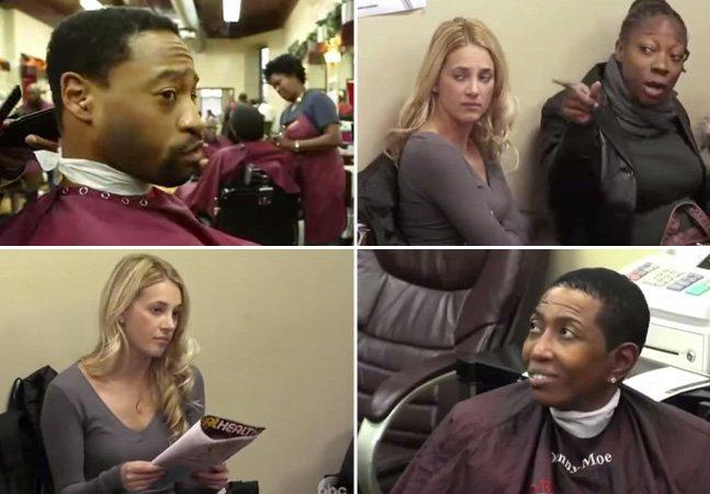 Vídeo mostra a reação das pessoas frente ao racismo