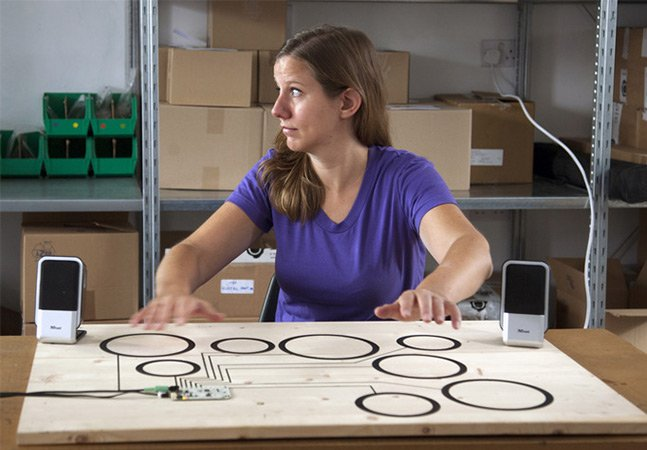 Conheça a placa inteligente que transforma qualquer superfície em um sensor