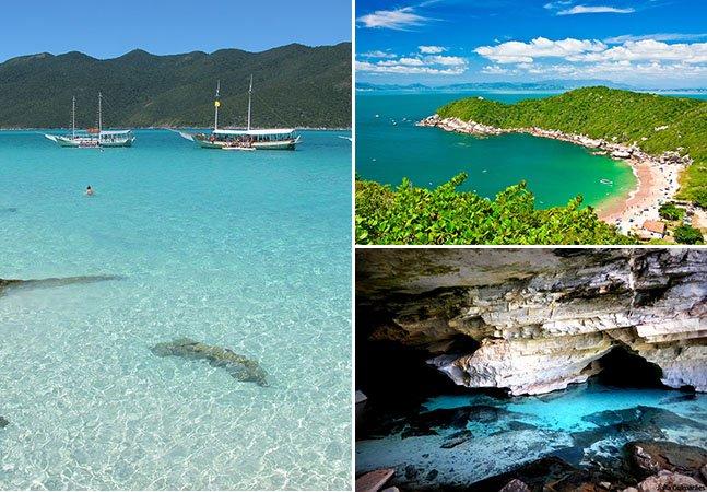 11 lugares com águas cristalinas pelo Brasil que você precisa conhecer