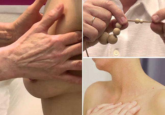 Mulheres cegas usam habilidade tátil para detectar câncer de mama precocemente