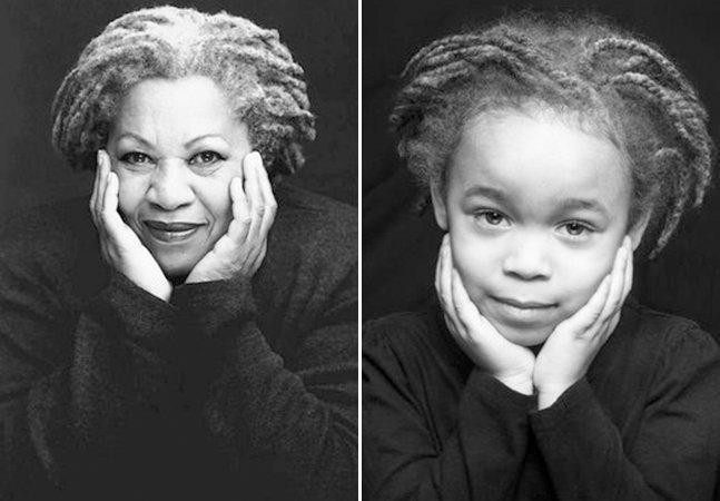 Casal cria série fotografando a filha de 5 anos vestida como ícones negras