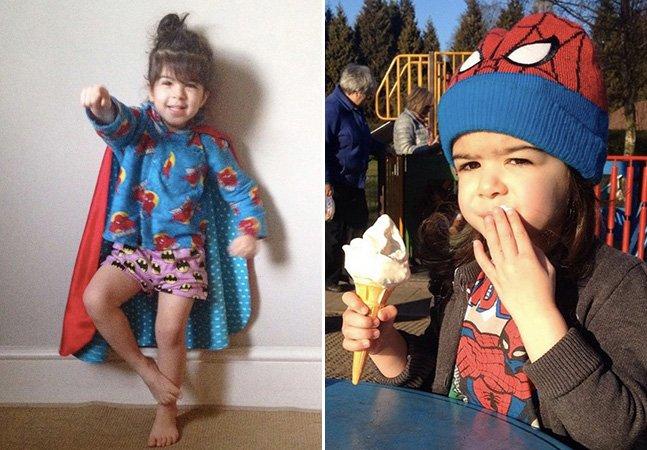 O que acontece quando um pai deixa sua filha de 3 anos escolher o que vai vestir