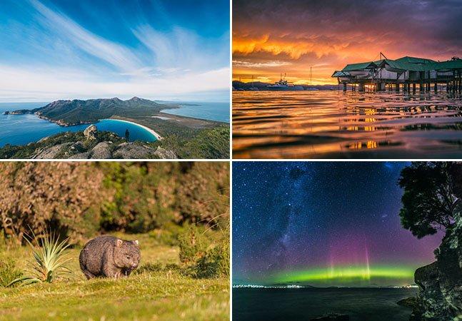 Casal de fotógrafos mostra porque o número de turistas na Tasmânia tem aumentado tanto
